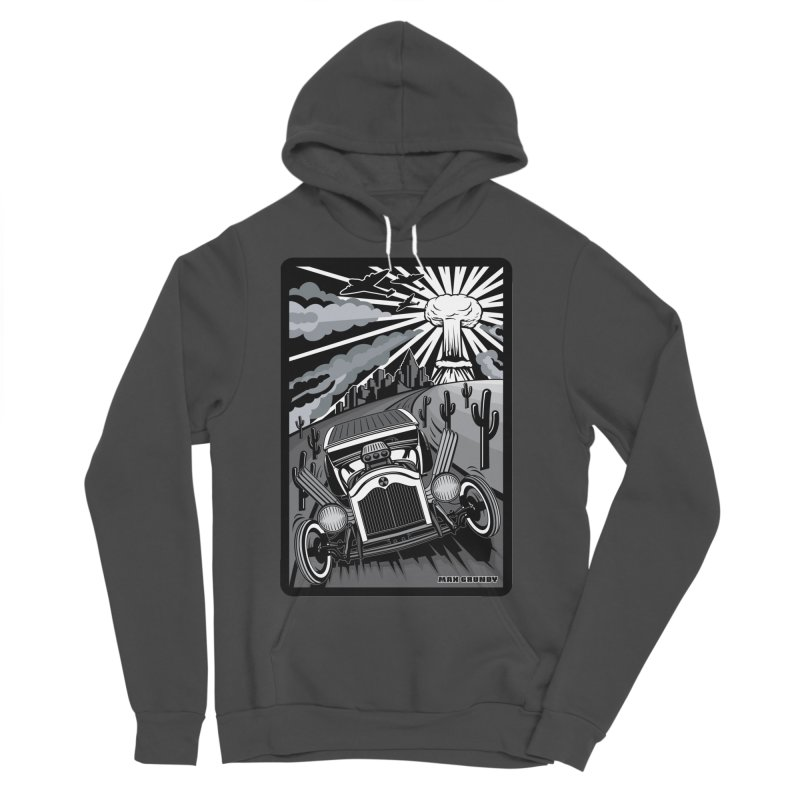 ESCAPE FROM L.A. (original version) Men's Sponge Fleece Pullover Hoody by Max Grundy Design's Artist Shop