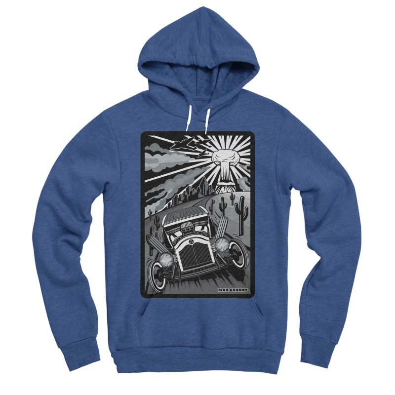 ESCAPE FROM L.A. (original version) Women's Sponge Fleece Pullover Hoody by Max Grundy Design's Artist Shop