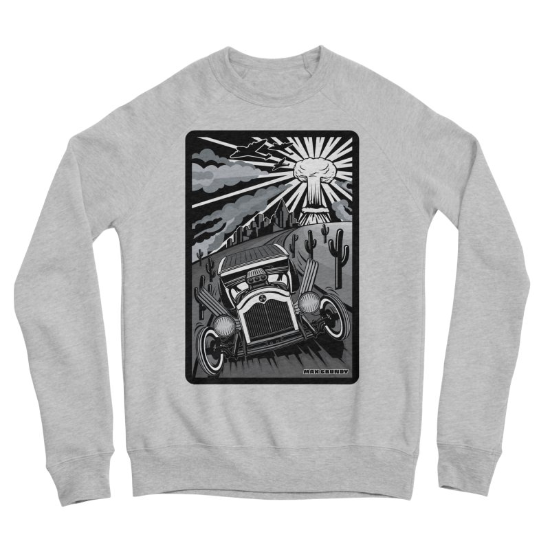 ESCAPE FROM L.A. (original version) Women's Sponge Fleece Sweatshirt by Max Grundy Design's Artist Shop