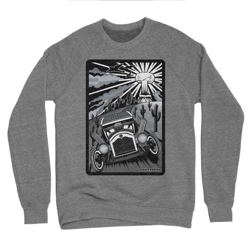 ESCAPE FROM L.A. (original version) Men's Sponge Fleece Sweatshirt by Max Grundy Design's Artist Shop