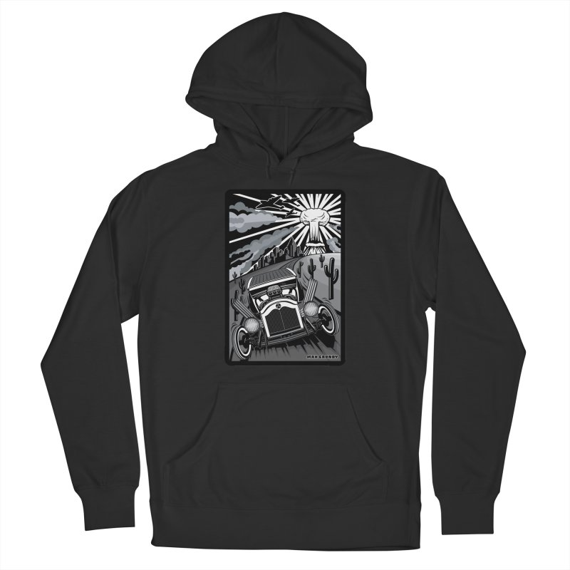 ESCAPE FROM L.A. (original version) Women's French Terry Pullover Hoody by Max Grundy Design's Artist Shop