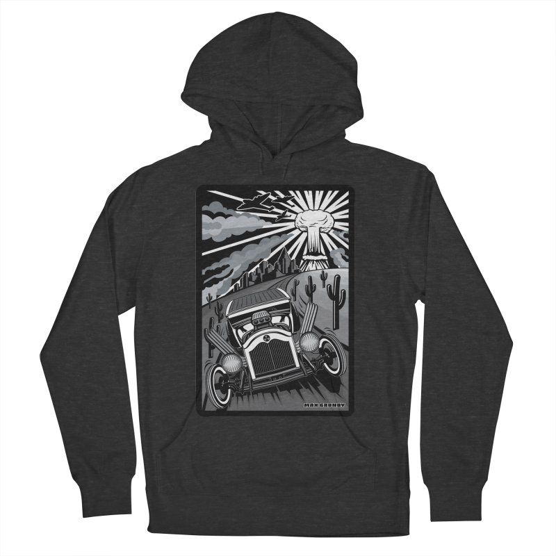 ESCAPE FROM L.A. (original version) Men's French Terry Pullover Hoody by Max Grundy Design's Artist Shop