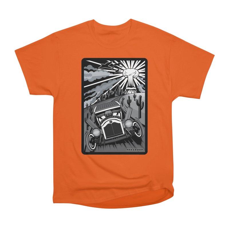 ESCAPE FROM L.A. (original version) Women's Heavyweight Unisex T-Shirt by Max Grundy Design's Artist Shop