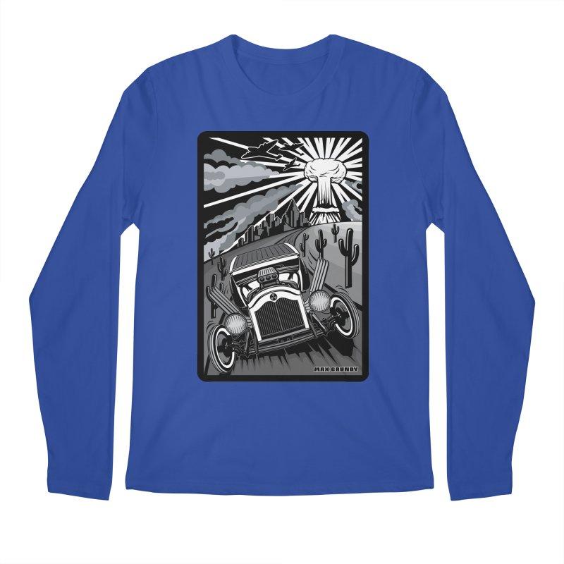 ESCAPE FROM L.A. (original version) Men's Regular Longsleeve T-Shirt by Max Grundy Design's Artist Shop