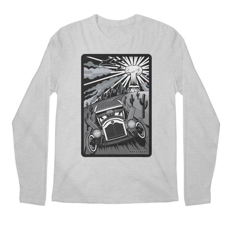 ESCAPE FROM L.A. (original version) Men's Regular Longsleeve T-Shirt by Max Grundy Design's Artist Shop