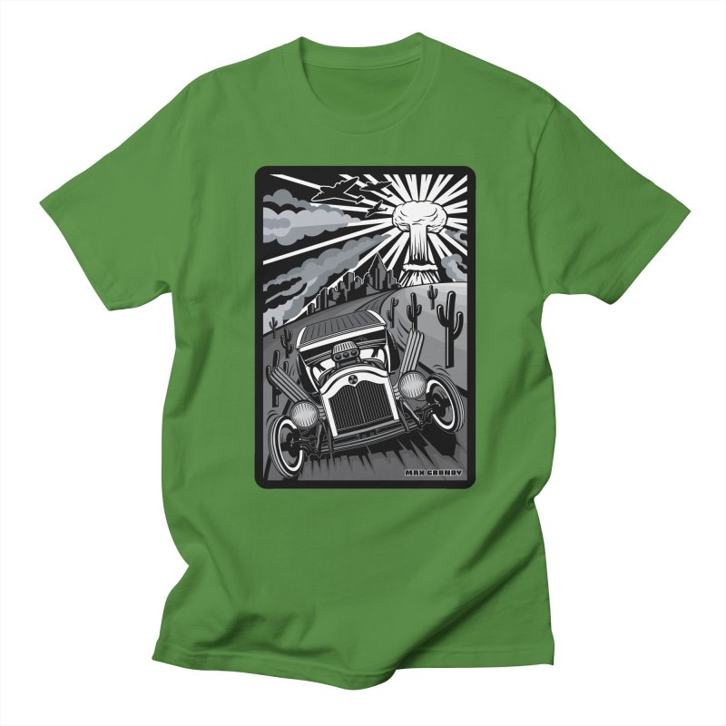 ESCAPE FROM L.A. (original version) Women's Regular Unisex T-Shirt by Max Grundy Design's Artist Shop