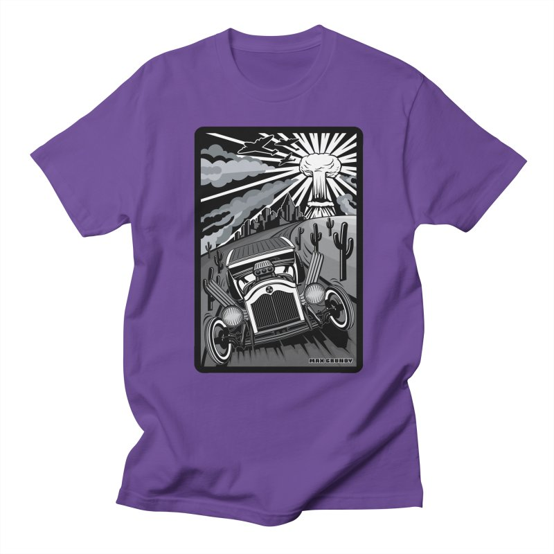 ESCAPE FROM L.A. (original version) Men's Regular T-Shirt by Max Grundy Design's Artist Shop