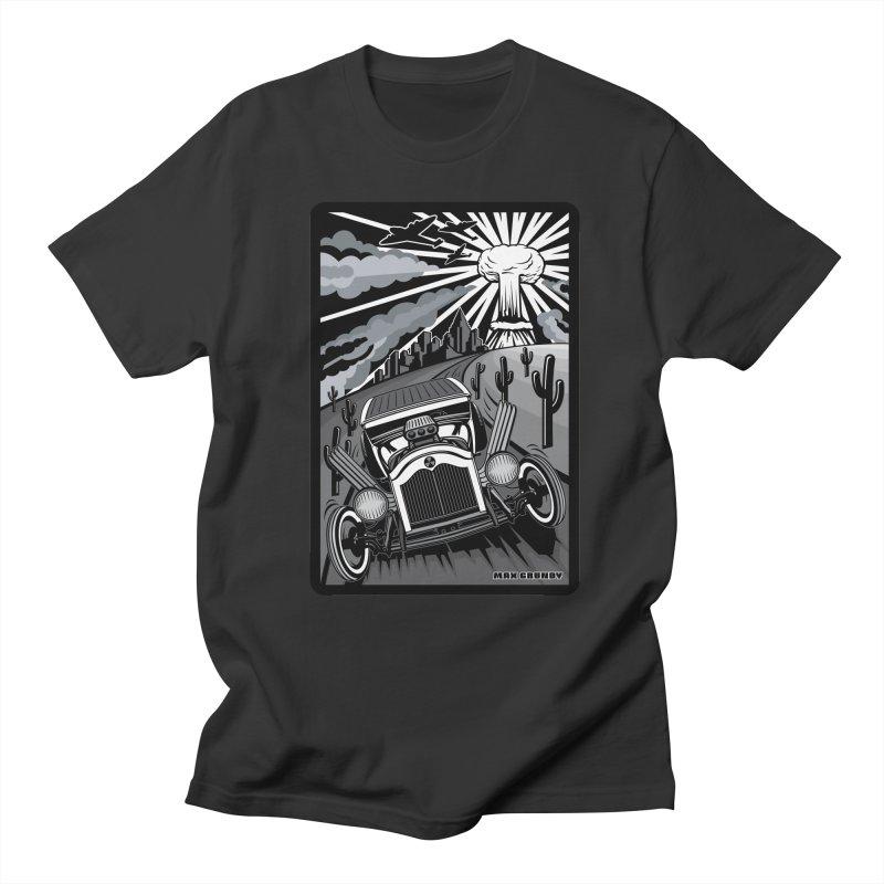 ESCAPE FROM L.A. (original version) Men's Regular T-Shirt by Max Grundy Design's Artist Shop
