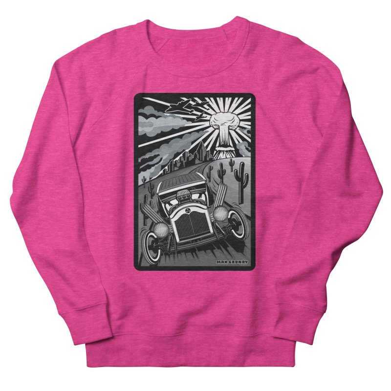 ESCAPE FROM L.A. (original version) Women's French Terry Sweatshirt by Max Grundy Design's Artist Shop