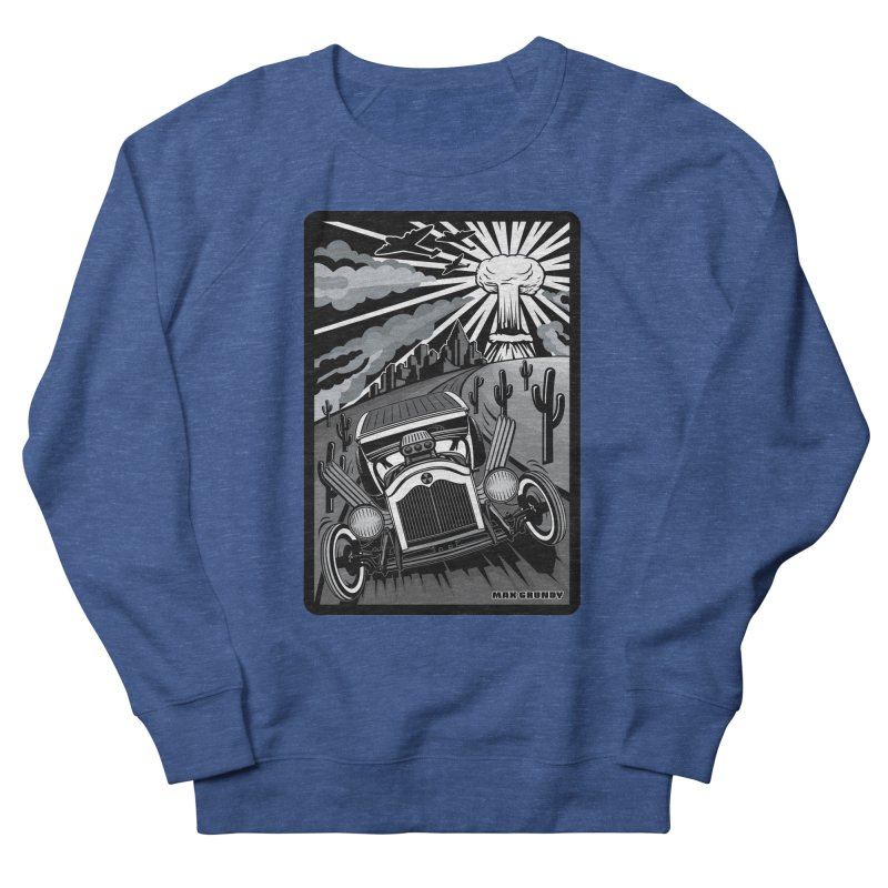 ESCAPE FROM L.A. (original version) Men's French Terry Sweatshirt by Max Grundy Design's Artist Shop
