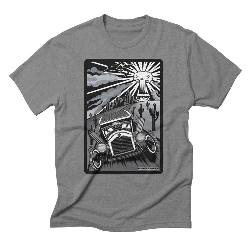 ESCAPE FROM L.A. (original version) Men's Triblend T-Shirt by Max Grundy Design's Artist Shop