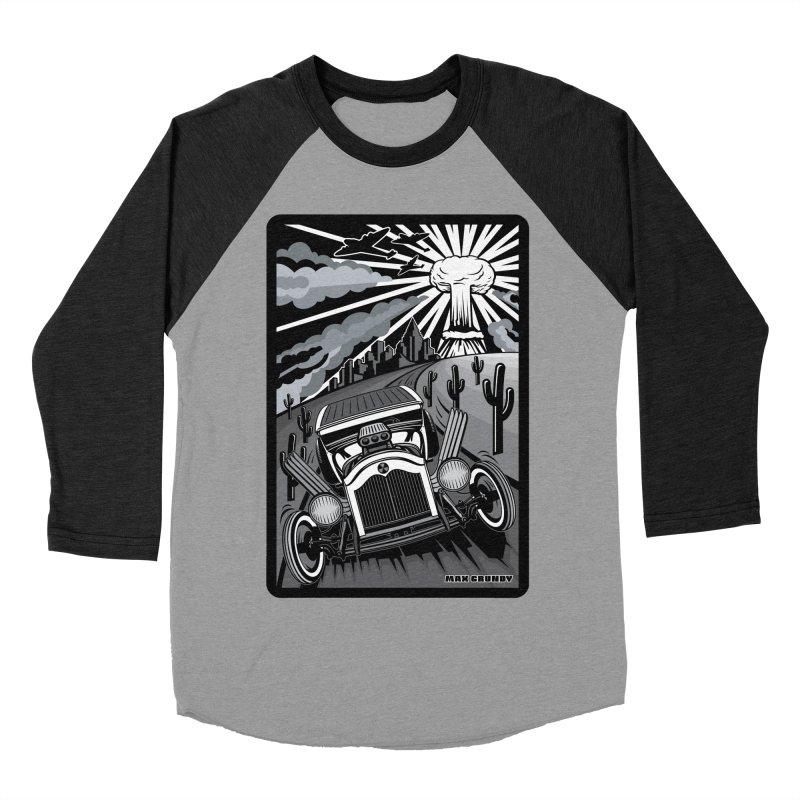 ESCAPE FROM L.A. (original version) Women's Baseball Triblend Longsleeve T-Shirt by Max Grundy Design's Artist Shop