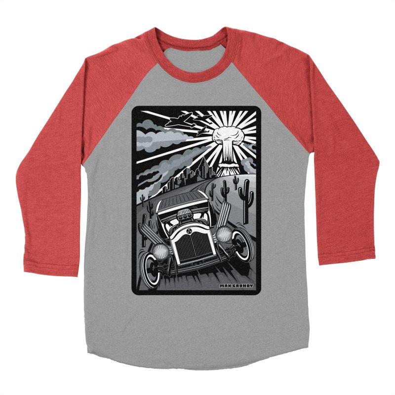 ESCAPE FROM L.A. (original version) Men's Baseball Triblend Longsleeve T-Shirt by Max Grundy Design's Artist Shop