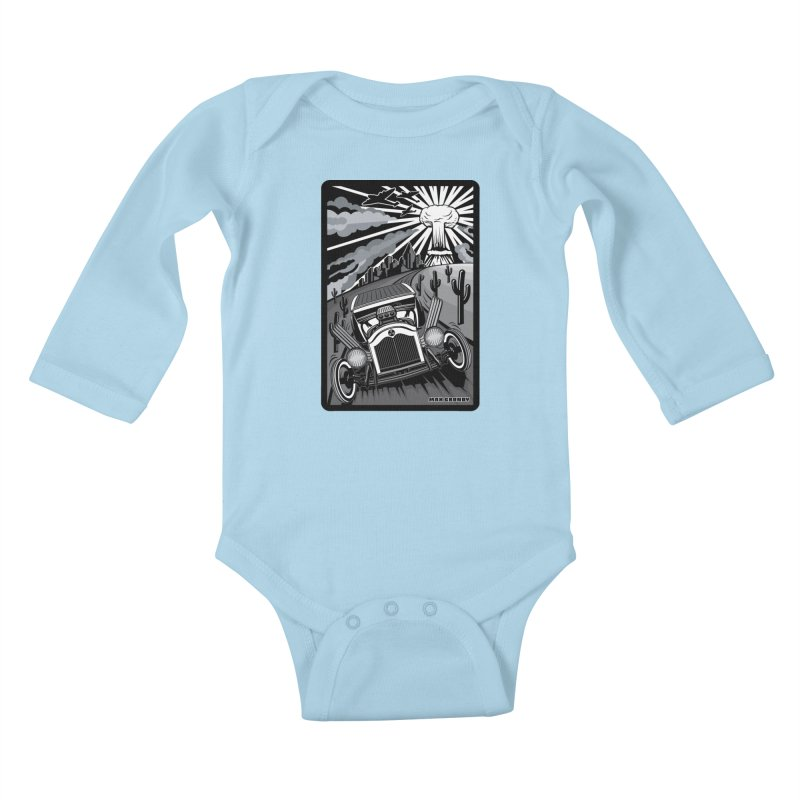 ESCAPE FROM L.A. (original version) Kids Baby Longsleeve Bodysuit by Max Grundy Design's Artist Shop