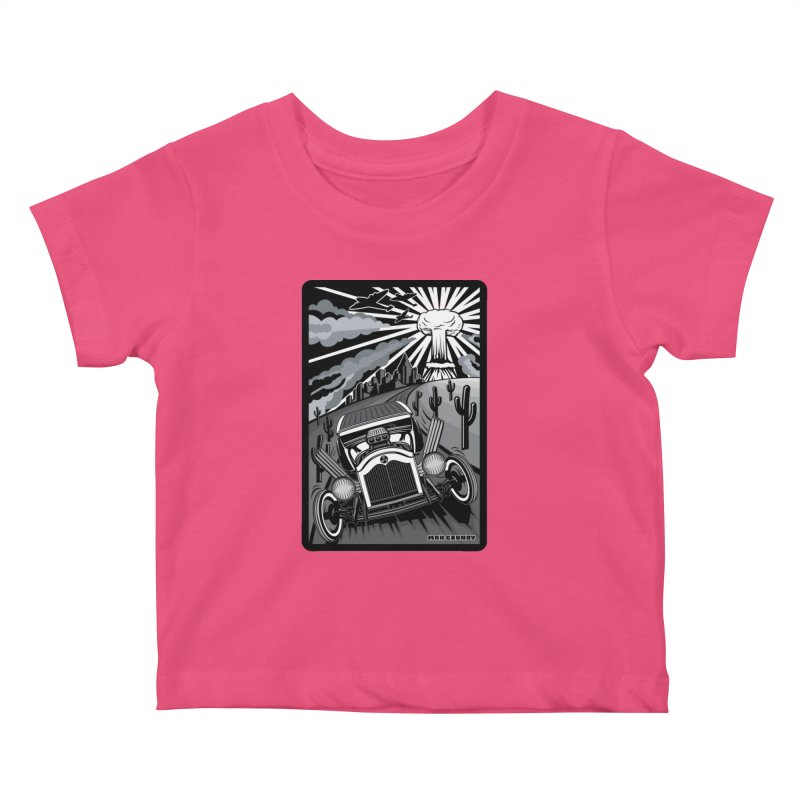 ESCAPE FROM L.A. (original version) Kids Baby T-Shirt by Max Grundy Design's Artist Shop