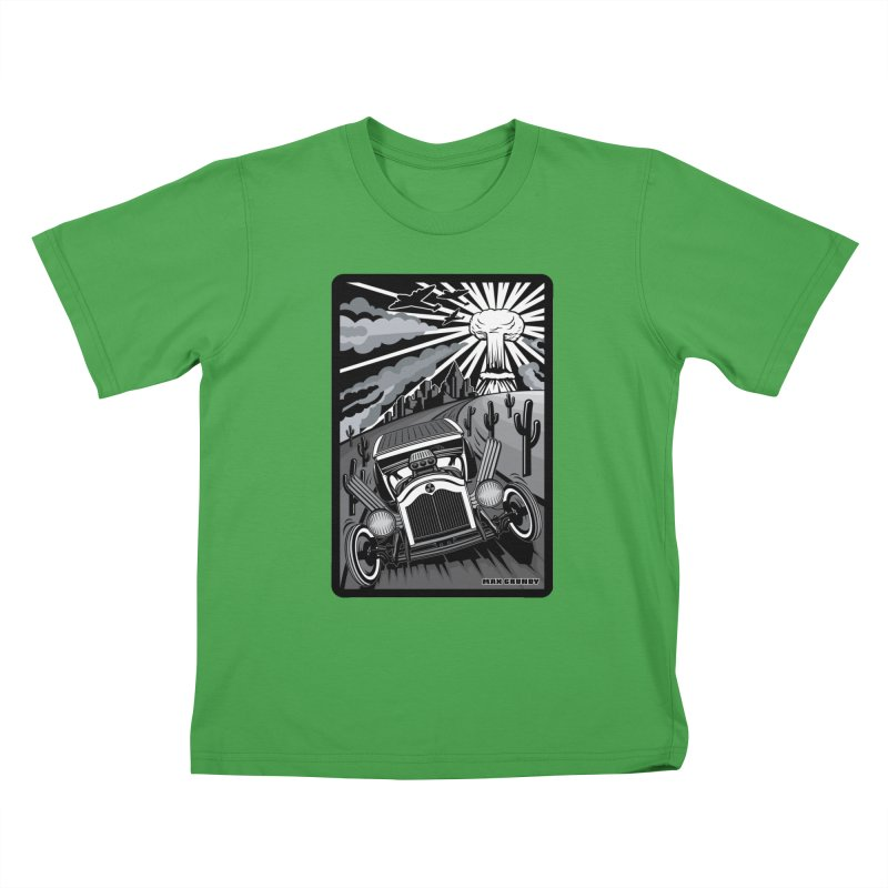 ESCAPE FROM L.A. (original version) Kids T-Shirt by Max Grundy Design's Artist Shop