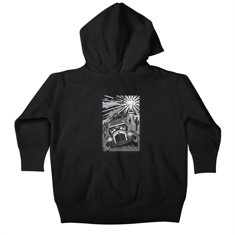 ESCAPE FROM L.A. (original version) Kids Baby Zip-Up Hoody by Max Grundy Design's Artist Shop