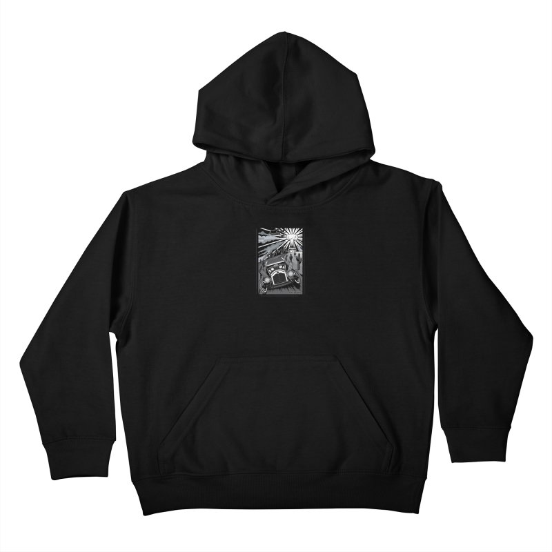 ESCAPE FROM L.A. (original version) Kids Pullover Hoody by Max Grundy Design's Artist Shop