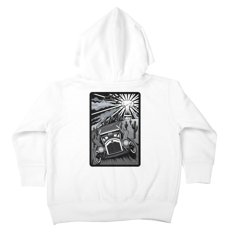 ESCAPE FROM L.A. (original version) Kids Toddler Zip-Up Hoody by Max Grundy Design's Artist Shop