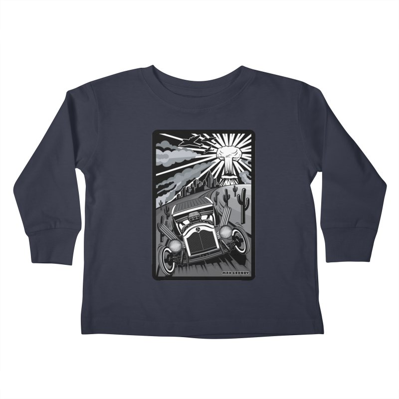 ESCAPE FROM L.A. (original version) Kids Toddler Longsleeve T-Shirt by Max Grundy Design's Artist Shop
