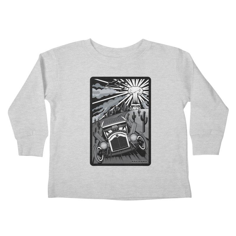 ESCAPE FROM L.A. (original version) Kids Toddler Longsleeve T-Shirt by Max Grundy Design's Artist Shop