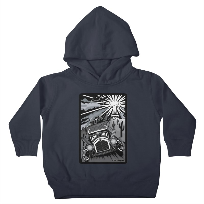 ESCAPE FROM L.A. (original version) Kids Toddler Pullover Hoody by Max Grundy Design's Artist Shop