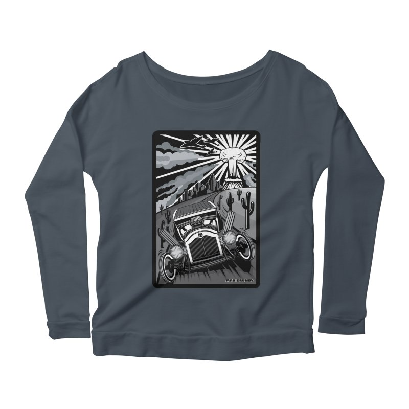 ESCAPE FROM L.A. (original version) Women's Scoop Neck Longsleeve T-Shirt by Max Grundy Design's Artist Shop