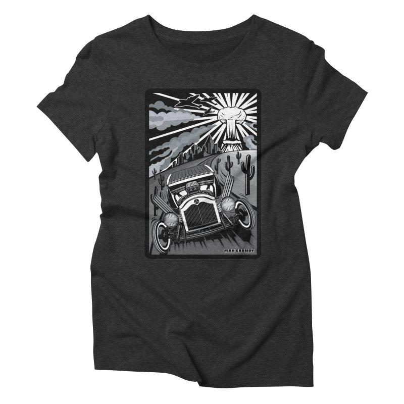 ESCAPE FROM L.A. (original version) Women's Triblend T-Shirt by Max Grundy Design's Artist Shop