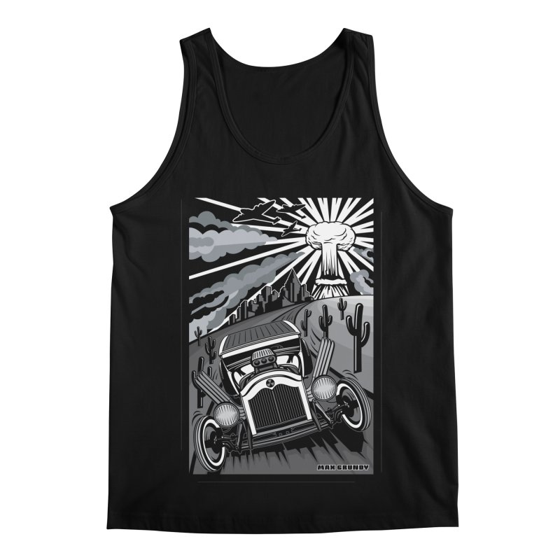 ESCAPE FROM L.A. (original version) Men's Regular Tank by Max Grundy Design's Artist Shop