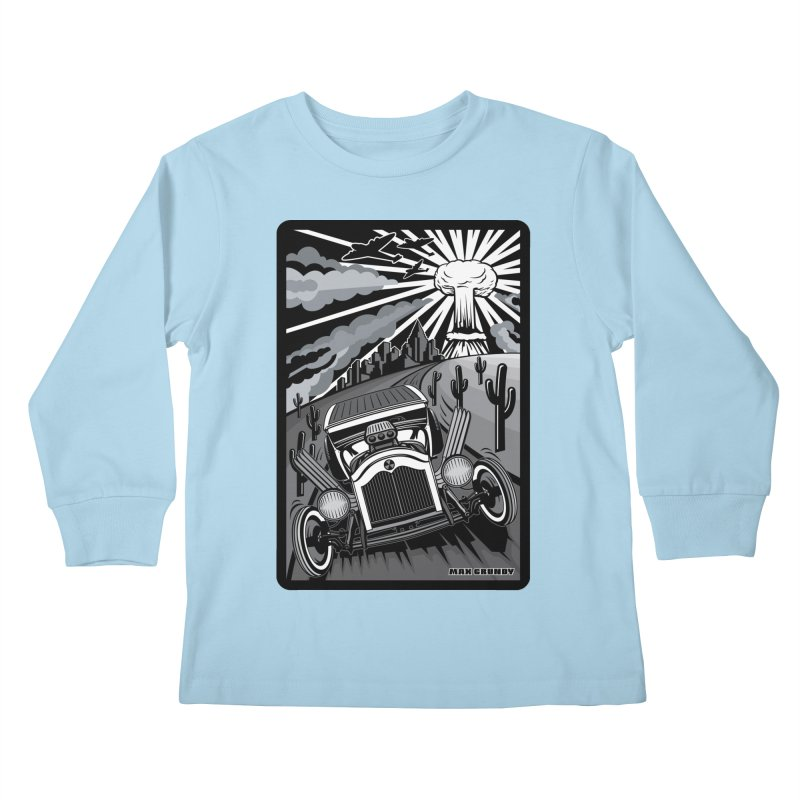 ESCAPE FROM L.A. (original version) Kids Longsleeve T-Shirt by Max Grundy Design's Artist Shop
