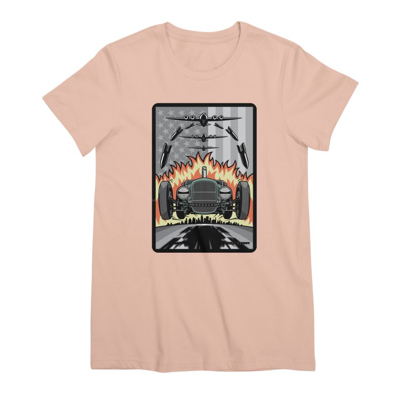 THE GREEN AGENDA (original version) Women's Premium T-Shirt by Max Grundy Design's Artist Shop
