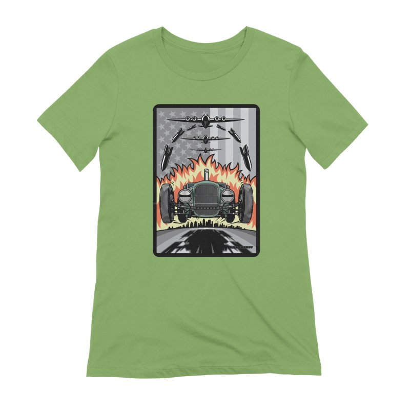 THE GREEN AGENDA (original version) Women's Extra Soft T-Shirt by Max Grundy Design's Artist Shop