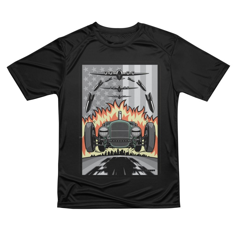 THE GREEN AGENDA (original version) Men's Performance T-Shirt by Max Grundy Design's Artist Shop