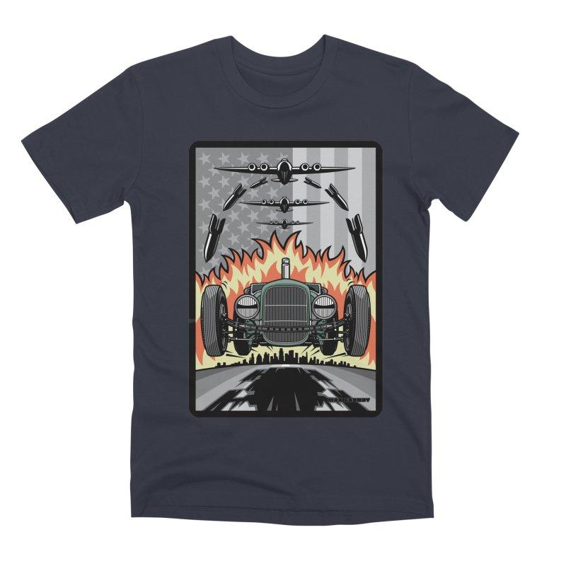 THE GREEN AGENDA (original version) Men's Premium T-Shirt by Max Grundy Design's Artist Shop