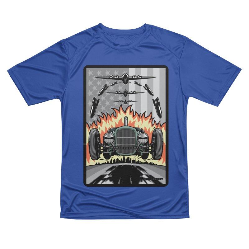 THE GREEN AGENDA (original version) Women's Performance Unisex T-Shirt by Max Grundy Design's Artist Shop