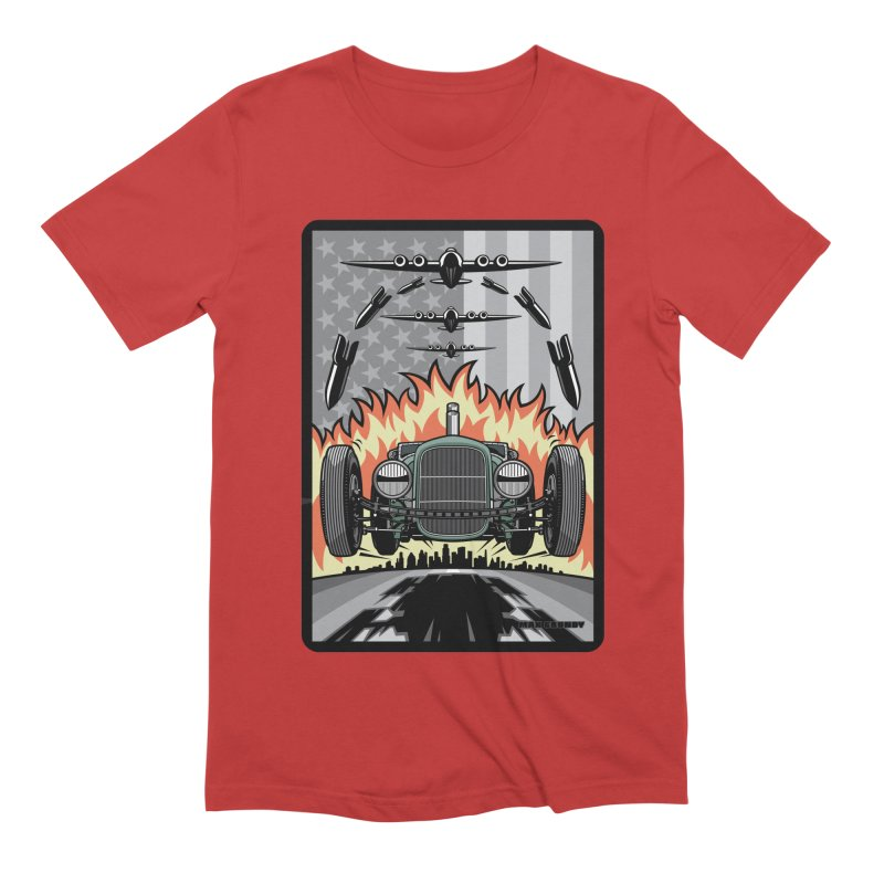 THE GREEN AGENDA (original version) Men's Extra Soft T-Shirt by Max Grundy Design's Artist Shop
