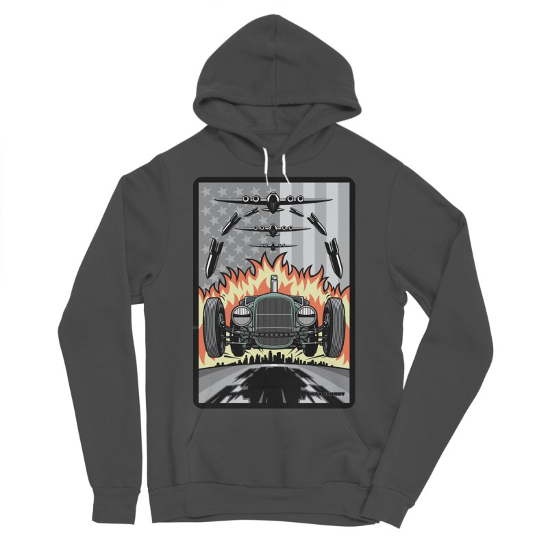 THE GREEN AGENDA (original version) Men's Sponge Fleece Pullover Hoody by Max Grundy Design's Artist Shop