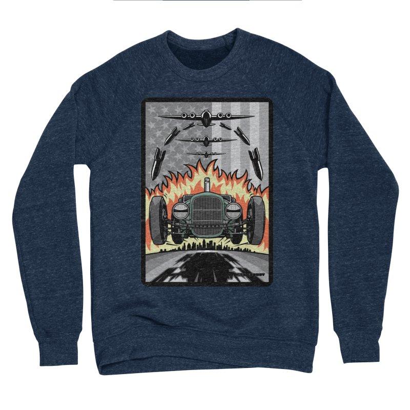 THE GREEN AGENDA (original version) Men's Sponge Fleece Sweatshirt by Max Grundy Design's Artist Shop