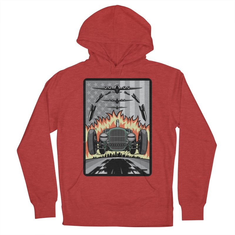 THE GREEN AGENDA (original version) Women's French Terry Pullover Hoody by Max Grundy Design's Artist Shop