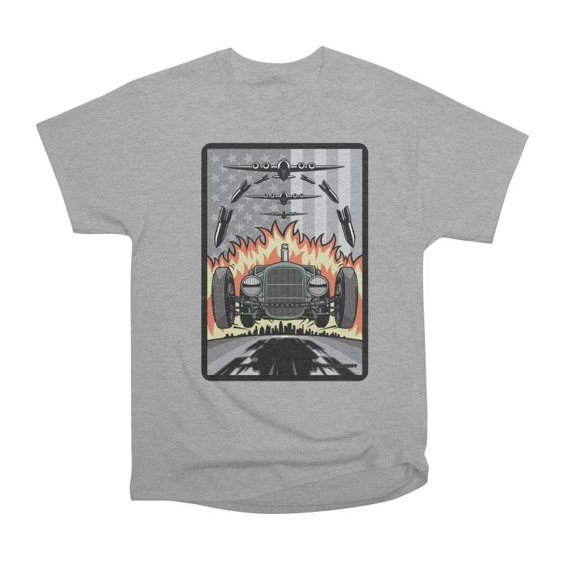 THE GREEN AGENDA (original version) Men's Heavyweight T-Shirt by Max Grundy Design's Artist Shop