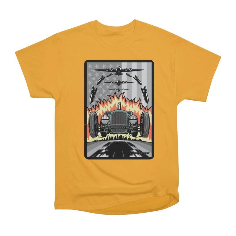 THE GREEN AGENDA (original version) Women's Heavyweight Unisex T-Shirt by Max Grundy Design's Artist Shop