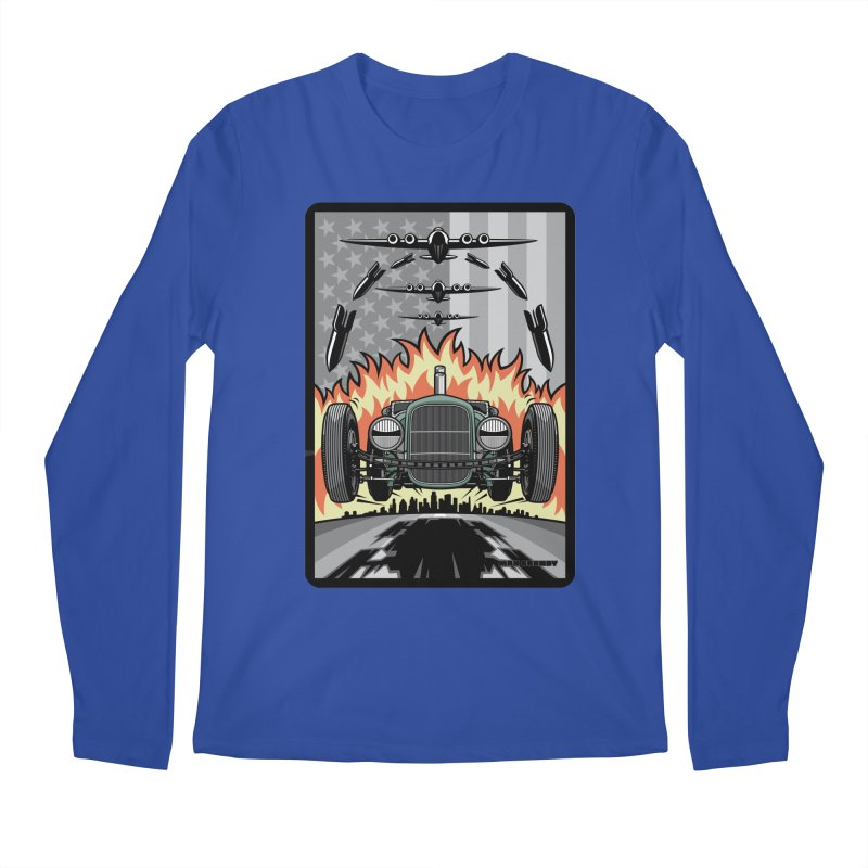 THE GREEN AGENDA (original version) Men's Regular Longsleeve T-Shirt by Max Grundy Design's Artist Shop