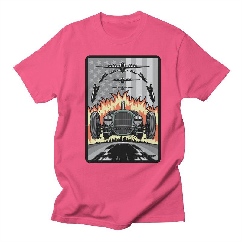 THE GREEN AGENDA (original version) Men's Regular T-Shirt by Max Grundy Design's Artist Shop