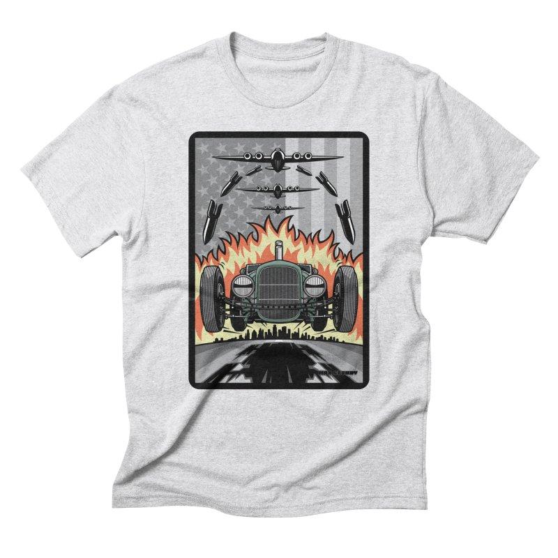 THE GREEN AGENDA (original version) Men's Triblend T-Shirt by Max Grundy Design's Artist Shop
