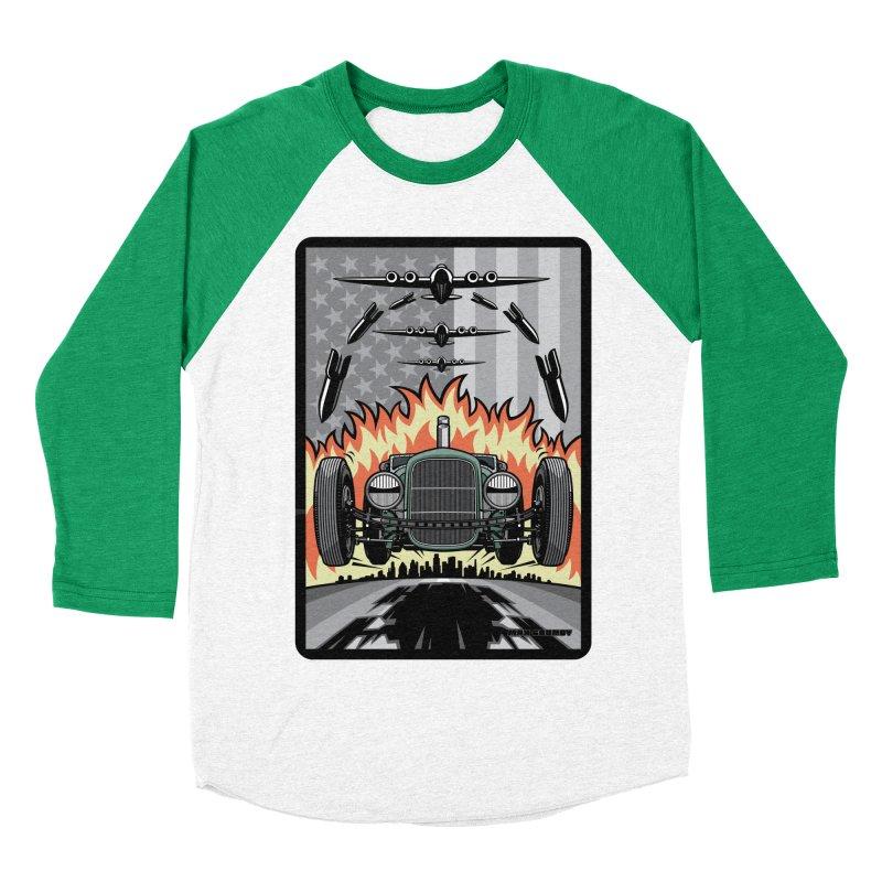THE GREEN AGENDA (original version) Women's Baseball Triblend Longsleeve T-Shirt by Max Grundy Design's Artist Shop