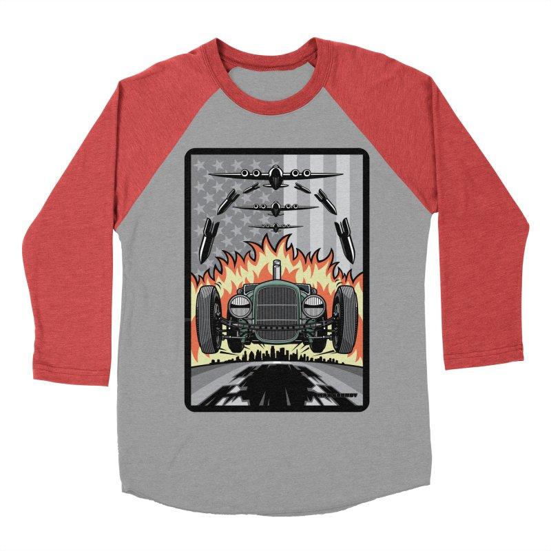 THE GREEN AGENDA (original version) Men's Baseball Triblend Longsleeve T-Shirt by Max Grundy Design's Artist Shop