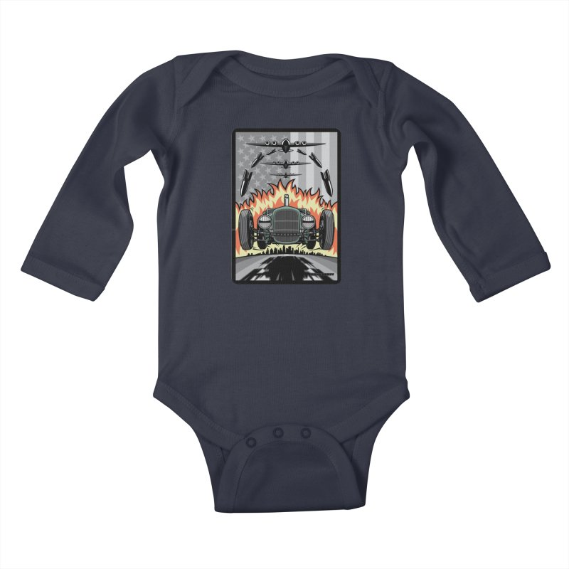 THE GREEN AGENDA (original version) Kids Baby Longsleeve Bodysuit by Max Grundy Design's Artist Shop