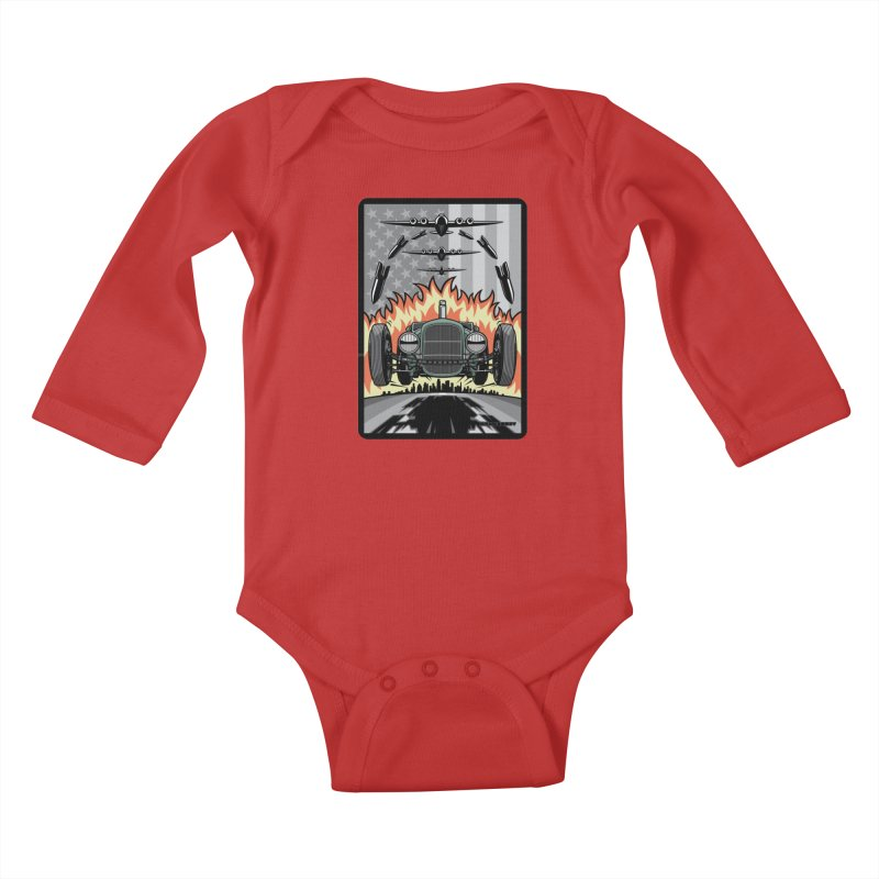 THE GREEN AGENDA (original version) Kids Baby Longsleeve Bodysuit by Max Grundy Design's Artist Shop