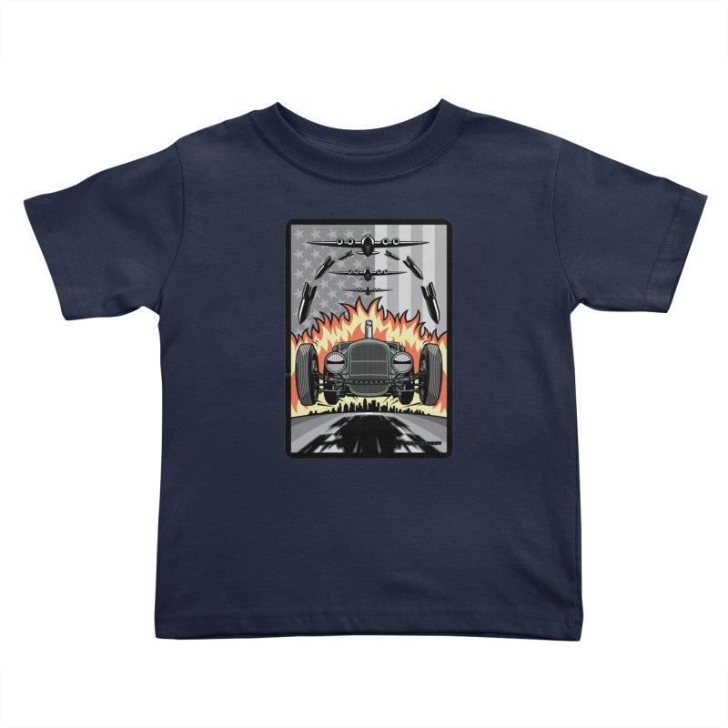 THE GREEN AGENDA (original version) Kids Toddler T-Shirt by Max Grundy Design's Artist Shop