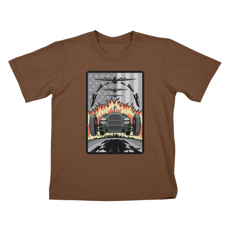 THE GREEN AGENDA (original version) Kids T-Shirt by Max Grundy Design's Artist Shop
